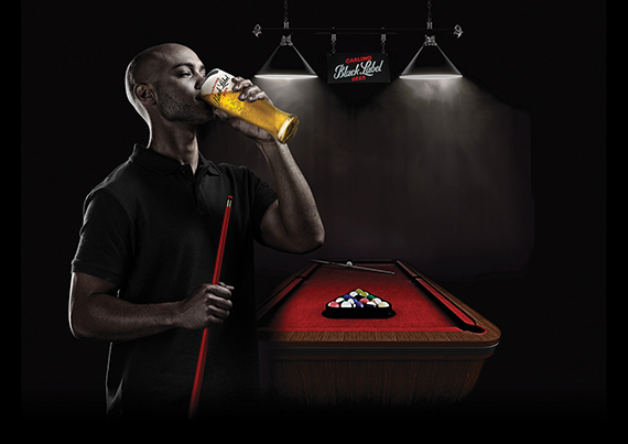 Carling Black Label // BarSports